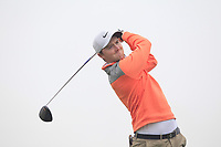 Eugene Smith (Links Portmarnock) on the 2nd tee during Round 1 of The East of Ireland Amateur Open Championship in Co. Louth Golf Club, Baltray on Saturday 1st June 2019.<br /> <br /> Picture:  Thos Caffrey / www.golffile.ie<br /> <br /> All photos usage must carry mandatory copyright credit (© Golffile | Thos Caffrey)
