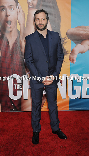 "WESTWOOD, CA - AUGUST 01: Judd Apatow attends ""The Change-Up"" Los Angeles Premiere at Regency Village Theatre on August 1, 2011 in Westwood, California."