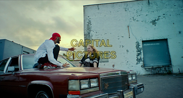Patti Cake$ (2017) <br /> Siddharth Dhananjay and Danielle Macdonald<br /> *Filmstill - Editorial Use Only*<br /> CAP/FB<br /> Image supplied by Capital Pictures