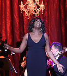 Amber Iman performing in The American Pops Orchestra '75 Years of Streisand'  at the George Washington University Lisner Auditorium on January 13, 2017 in New York City.