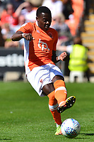Blackpool's Bright Osayi-Samuel in action<br /> <br /> Photographer Richard Martin-Roberts/CameraSport<br /> <br /> The EFL Sky Bet League One - Blackpool v Milton Keynes Dons - Saturday August 12th 2017 - Bloomfield Road - Blackpool<br /> <br /> World Copyright &copy; 2017 CameraSport. All rights reserved. 43 Linden Ave. Countesthorpe. Leicester. England. LE8 5PG - Tel: +44 (0) 116 277 4147 - admin@camerasport.com - www.camerasport.com