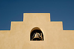 School bell at Mission San Xavier del Bac, Tucson, Arizona