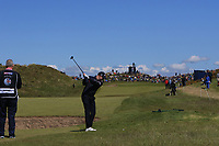 Richard McEvoy (ENG) on the 17th tee during Round 4 of the Betfred British Masters 2019 at Hillside Golf Club, Southport, Lancashire, England. 12/05/19<br /> <br /> Picture: Thos Caffrey / Golffile<br /> <br /> All photos usage must carry mandatory copyright credit (© Golffile | Thos Caffrey)