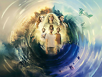 A Wrinkle in Time (2018) <br /> Promotional art with Reese Witherspoon, Oprah Winfrey, Mindy Kaling, Storm Reid, Deric Mccabe &amp; Levi Miller<br /> *Filmstill - Editorial Use Only*<br /> CAP/MFS<br /> Image supplied by Capital Pictures