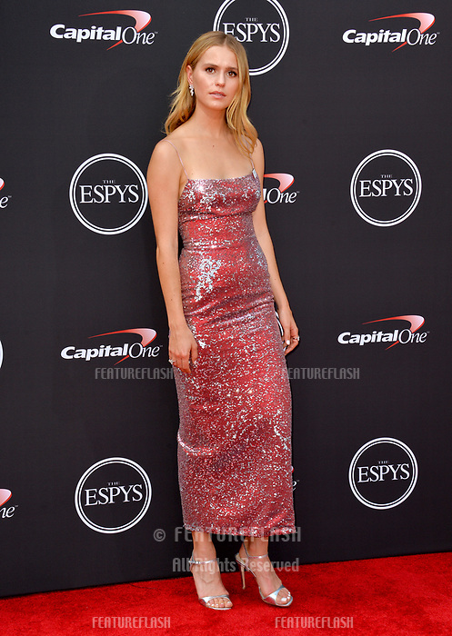 Mallory Edens at the 2018 ESPY Awards at the Microsoft Theatre LA Live, Los Angeles, USA 18 July 2018<br /> Picture: Paul Smith/Featureflash/SilverHub 0208 004 5359 sales@silverhubmedia.com