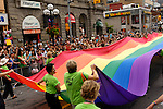 Gay and lesbian Pride parade in Toronto Canada 2008