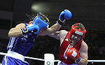 Delhi 2010 Commonwealth Games..Keiran Harding (Wales -Blue) v Eamonn O'Kane (Northern Ireland- Red).11.10.10.Photo Credit-Steve Pope-Sportingwales