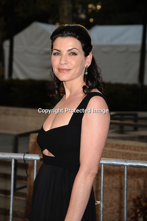Juliana Margulies in Narciso Rodriguez dress.arriving at The opening night of the Metropolitan Opera  on September 22, 2008 at The Metropolitan Opera House in New York City. ..Robin Platzer, Twin Images