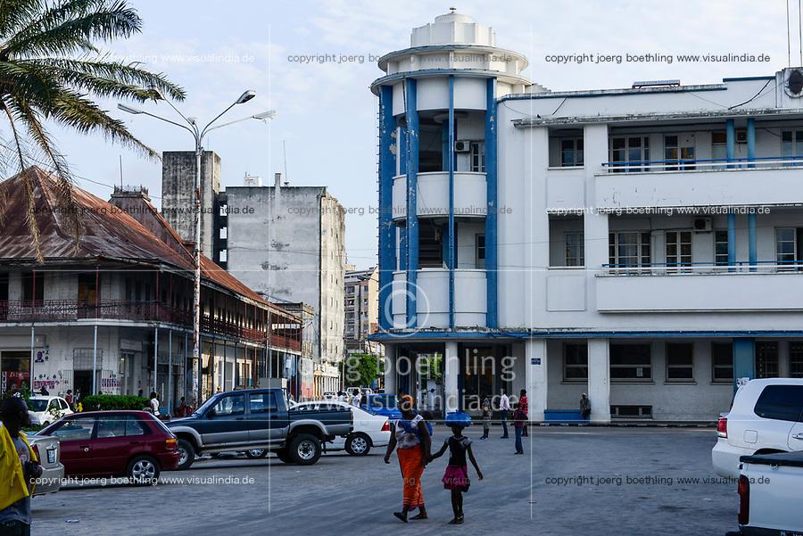MOZAMBIQUE, Beira, city centre / MOSAMBIK, Beira, Stadtzentrum