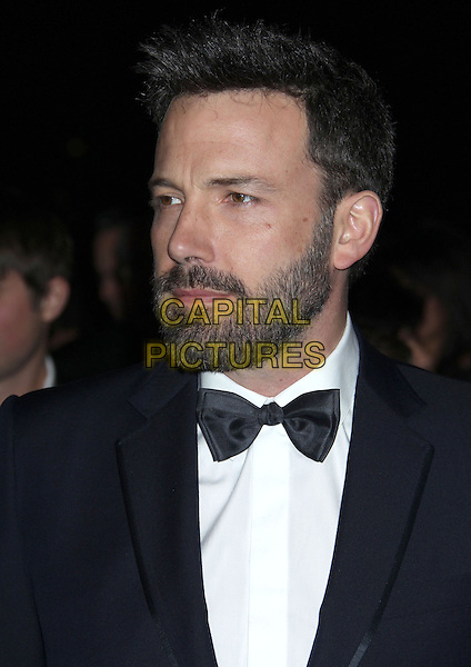 Ben Affleck.24th Annual Palm Springs International Film Festival Awards Gala held at at Palm Springs Convention Center, Palm Springs, California, USA,.5th January 2013..headshot portrait black tuxedo tux bow tie beard facial hair   .CAP/ADM/RE.©Russ Elliot/AdMedia/Capital Pictures.
