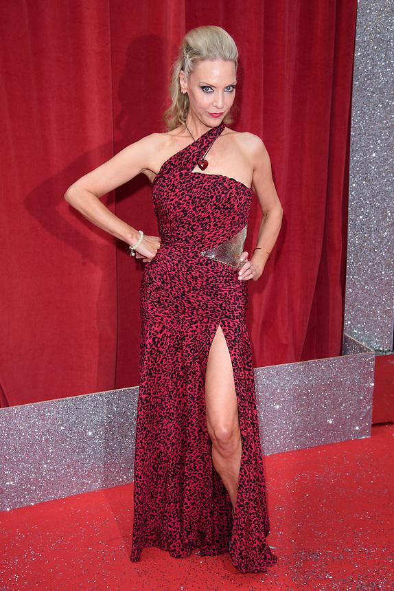 Andrea Gordon<br /> arriving for the British Soap Awards 2018 at the Hackney Empire, London<br /> <br /> ©Ash Knotek  D3405  02/06/2018