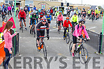 Start of the cycle in the Ardfert NS on Sunday morning.