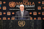Opening Plenary Meeting of the Nelson Mandela Peace Summit<br /> <br /> <br /> His Excellency Dusko MARKOVICPrime Minister of Montenegro
