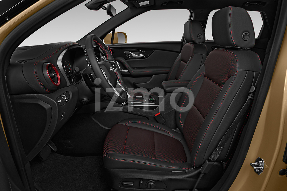 Front seat view of 2019 Chevrolet Blazer RS 5 Door SUV Front Seat  car photos