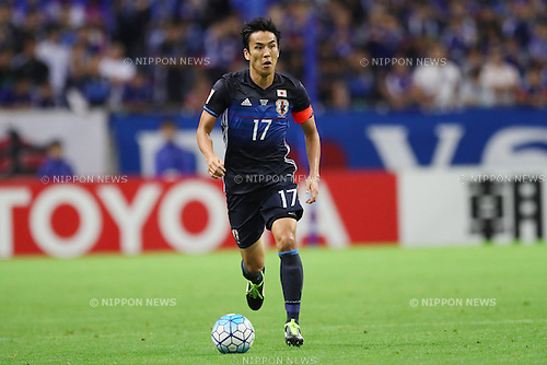 Makoto Hasebe (JPN), <br /> OCTOBER 6, 2016 - Football / Soccer : <br /> FIFA World Cup Russia 2018 Asian Qualifier <br /> Final Round Group B <br /> between Japan 2-1 Iraq <br /> at Saitama Stadium 2002, Saitama, Japan. <br /> (Photo by YUTAKA/AFLO SPORT)
