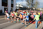 The runners take off at the Killarney Good Friday 5 Miler
