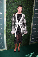 LOS ANGELES - FEB 20:  Elizabeth Chambers at the CFDA Variety and WWD Runway to Red Carpet at Chateau Marmont Hotel on February 20, 2018 in West Hollywood, CA