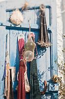 Europe/France/Corse/2B/Haute-Corse/Cap Corse/Nebbio/Bastia: détail d'un cabanon de pêcheur sur le Vieux Port