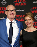 LOS ANGELES, CA - DECEMBER 9: Frank Oz, Victoria Labalme, at Premiere Of Disney Pictures And Lucasfilm's 'Star Wars: The Last Jedi' at Shrine Auditorium in Los Angeles, California on December 9, 2017. Credit: Faye Sadou/MediaPunch /NortePhoto.com NORTEPHOTOMEXICO
