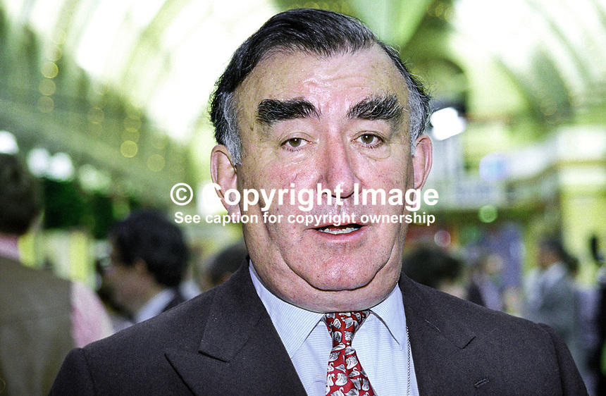 Michael Mates, MP, Conservative Party, UK, 199910017.<br />