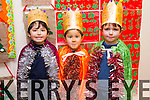 CHRISTMAS PLAY: Ben Casey, Conan Seino, Dylan Walsh   students  at Scoil Eoin, Balloonagh enjoying their Christmas play on Tuesday