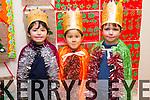 CHRISTMAS PLAY: Ben Casey, Conan Seino, Dylan Walsh   students  at Scoil Eoin, Balloonagh enjoying their Christmas play on Tuesday