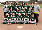 4-13-17, Huron High School junior varsity softball team