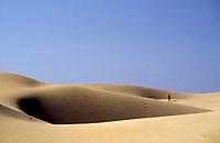 Spanien, Kanarische Inseln, Gran Canaria, Playa del Ingles: Sandduenen  | Spain, Canary Islands, Gran Canaria, Playa del Ingles: sand dunes