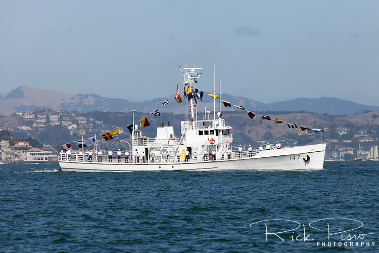 The former USCG Cutter Morris WSC-147 was built in 1927 and decommissioned in 1970. The 125' Alert Class Cutter is now operated by the Sea Scouts and based in West Sacramento, California.