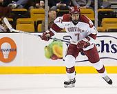 Ryan Maki (Harvard - 7) - The Northeastern University Huskies defeated the Harvard University Crimson 3-1 in the Beanpot consolation game on Monday, February 12, 2007, at TD Banknorth Garden in Boston, Massachusetts.