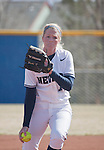 March 23, 2012:   Nevada Wolf Pack pitcher Mallary Darby throws against the Fresno State Bulldogs during their NCAA softball game played at Christina M. Hixson Softball Park on Friday in Reno, Nevada.