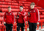 Ben Osborn, Oliver Norwood, Jake Eastwood of Sheffield Utd  during the Premier League match at Bramall Lane, Sheffield. Picture date: 9th February 2020. Picture credit should read: Simon Bellis/Sportimage