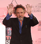 Tim Burton Hand And Footprint Ceremony 9-8-16