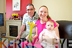 Local Hero winner Danielle Faulconbridge With her Husband Darren Mullery and Daughter Noelle.
