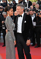 Vincent Cassel &amp; Tina Kunakey at the gala screening for &quot;Girls of the Sun&quot; at the 71st Festival de Cannes, Cannes, France 12 May 2018<br /> Picture: Paul Smith/Featureflash/SilverHub 0208 004 5359 sales@silverhubmedia.com