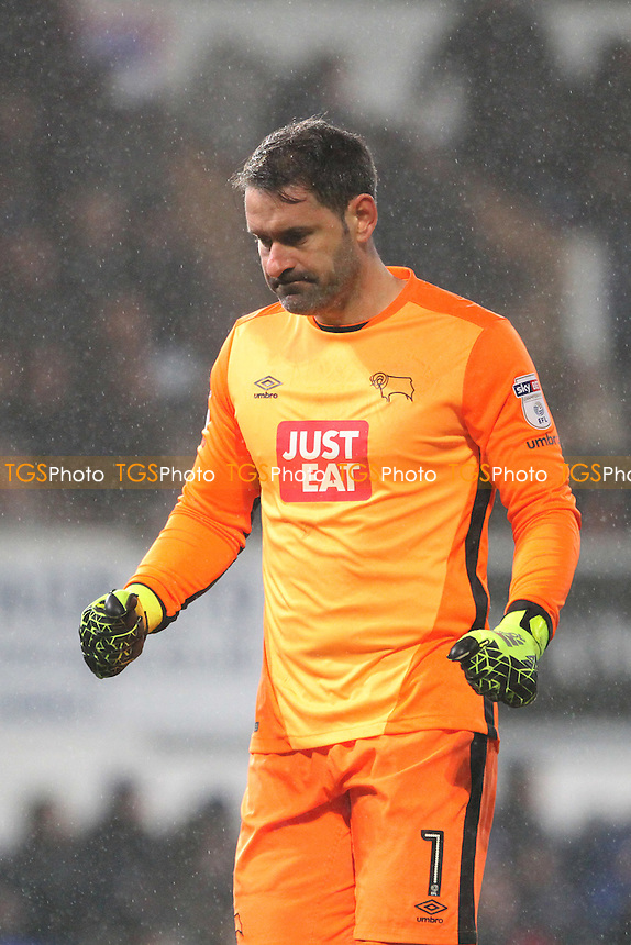 Scott Carson of Derby County during Ipswich Town vs Derby County, Sky Bet EFL Championship Football at Portman Road on 31st January 2017
