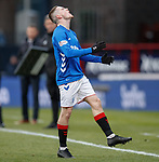 09.12.2018 Dundee v Rangers: Ryan Kent frustrated