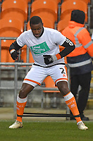 Blackpool's Donervon Daniels<br /> <br /> Photographer Dave Howarth/CameraSport<br /> <br /> The EFL Sky Bet League One - Blackpool v Doncaster Rovers - Tuesday 12th March 2019 - Bloomfield Road - Blackpool<br /> <br /> World Copyright © 2019 CameraSport. All rights reserved. 43 Linden Ave. Countesthorpe. Leicester. England. LE8 5PG - Tel: +44 (0) 116 277 4147 - admin@camerasport.com - www.camerasport.com