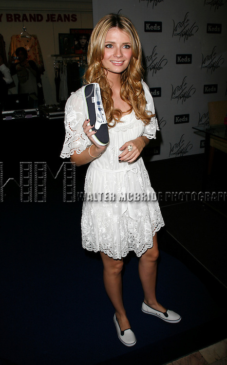 Mischa Barton.(KEDS Spokesperson) promoting the new KEDS classic brand trendy new summer look line at Lord & Taylor in New York City..June 21, 2007.© Alice Erardy / Starlitepics
