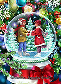 Randy, CHRISTMAS CHILDREN, WEIHNACHTEN KINDER, NAVIDAD NIÑOS, paintings+++++,USRW357,#xk# ,glass ball,crystal ball