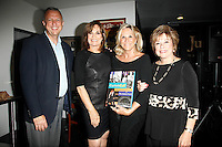 WEST HOLLYWOOD - SEP 21: Keith McNutt, Linda Gray, Donna De Varona, Kate Johnson at a screening of 'Wally's Will' with Linda Gray to benefit The Actors Fund at a Julien's Auctions on September 21, 2016 in West Hollywood, California