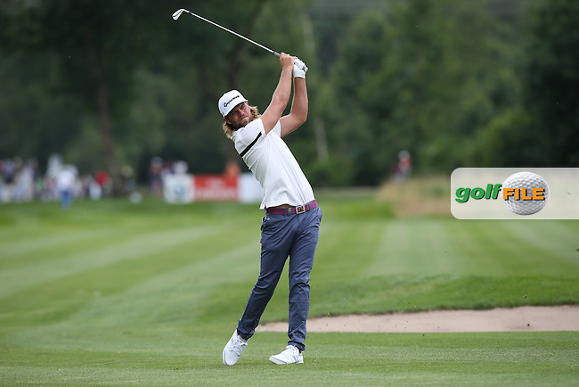 Johan Carlsson (SWE) plays down the 9th during Round One of the 2015 BMW International Open at Golfclub Munchen Eichenried, Eichenried, Munich, Germany. 25/06/2015. Picture David Lloyd | www.golffile.ie