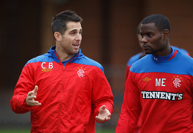 Carlos Bocanegra and Maurice Edu