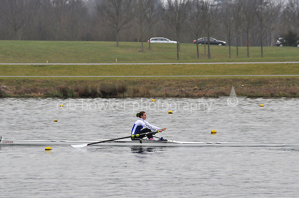 502 Canford Sch W.J18A.1x..Marlow Regatta Committee Thames Valley Trial Head. 1900m at Dorney Lake/Eton College Rowing Centre, Dorney, Buckinghamshire. Sunday 29 January 2012. Run over three divisions.