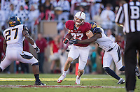 Stanford, California, 11-23-2013- Stanford's Jordan Pratt during the 116th Big Game at Stanford Stadium on Saturday in Stanford, CA.
