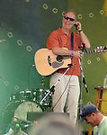Loudon Wainwright III performing on the Rainbow Stage of the 2012 Clearwater Festival at Croton Point Park on Sunday, June 17, 2012. Photograph taken by Jim Peppler. Copyright Jim Peppler/2012.