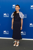 Hong Chau at the Downsizing photocall, 74th Venice Film Festival in Italy on 30 August 2017.<br /> <br /> Photo: Kristina Afanasyeva/Featureflash/SilverHub<br /> 0208 004 5359<br /> sales@silverhubmedia.com