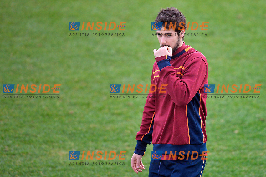 Mattia Destro <br /> Roma 03-01-2014 Trigoria, As Roma training. Allenamento - Football Calcio Serie A 2013/2014  Foto Andrea Staccioli / Insidefoto