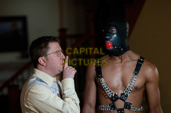 NICK SWARDSON, MARLON WAYANS.in A Haunted House (2013)  .*Filmstill - Editorial Use Only*.CAP/FB.Supplied by Capital Pictures.