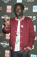 NEW YORK, NY - OCTOBER 04: Emmanuel Jal at Hard Rock Rocks Times Square at Hard Rock Cafe, Times Square on October 4, 2012 in New York City. © RW/MediaPunch Inc.